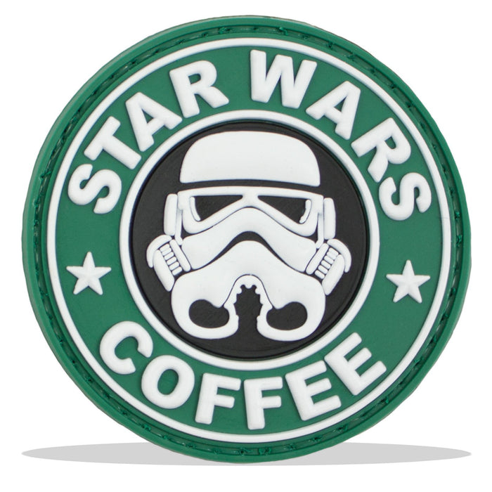 3D PVC Star Wars Coffee Morale Patch | UKMCPro