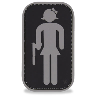 3D PVC Tactical RR Girl Patch | UKMCPro