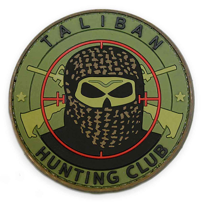 3D PVC Taliban Hunting Club Patch | UKMCPro