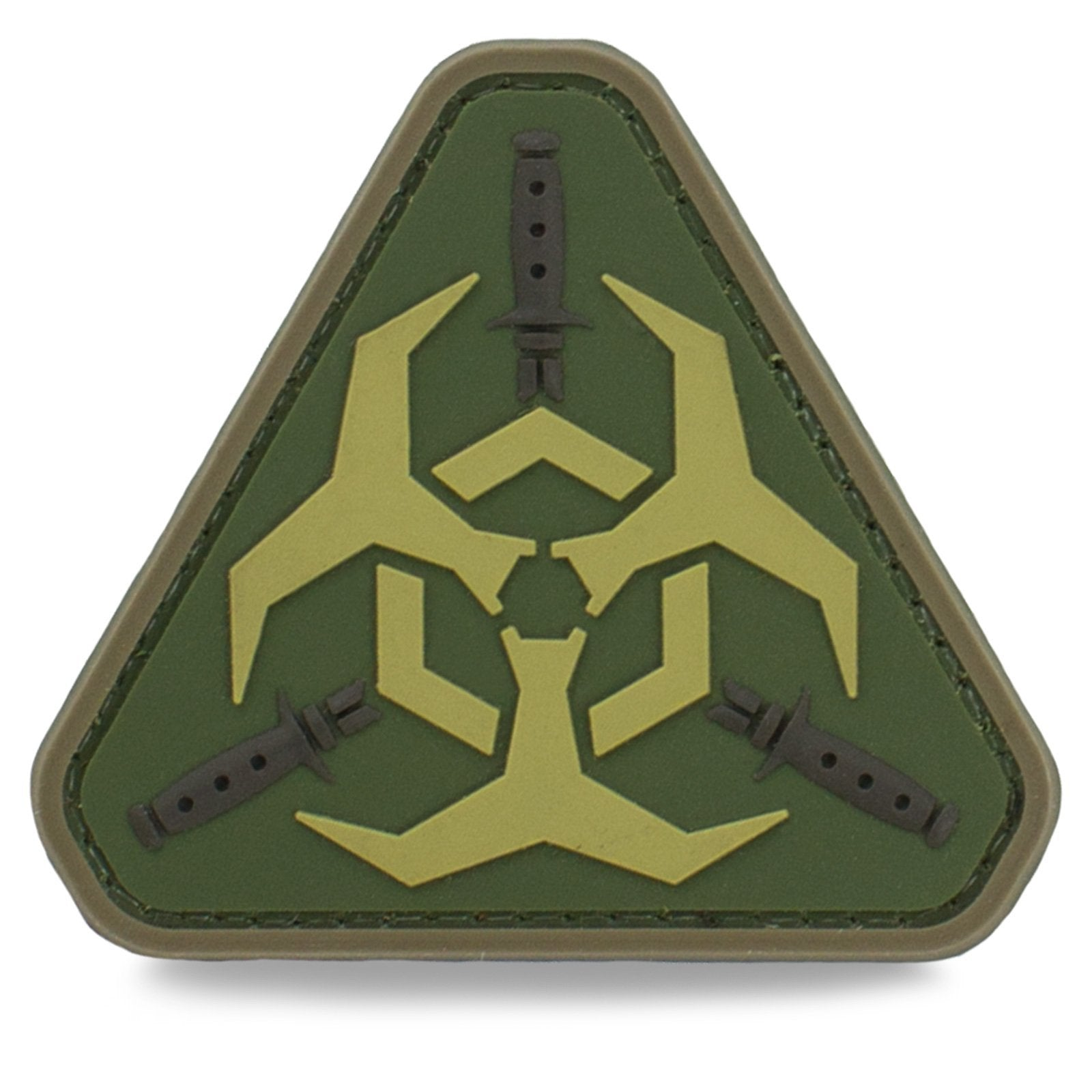 3D PVC Zombie Bio Warfare Patch | UKMCPro