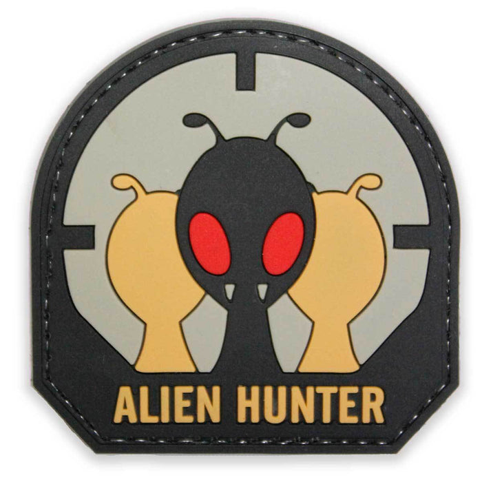 3D Rubber Alien Hunter Patch | UKMCPro