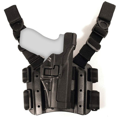 Blackhawk SERPA Level 3 Tactical Holster Right Handed Black | UKMC Pro