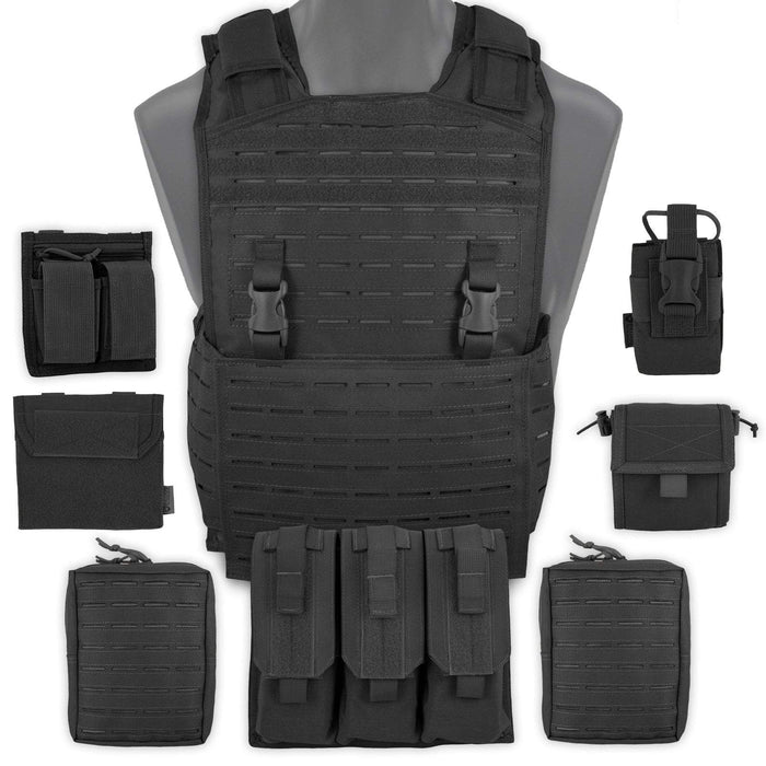 Bulldog Mission Alert Plate Carrier MK1 Bundle Black | UKMCPro