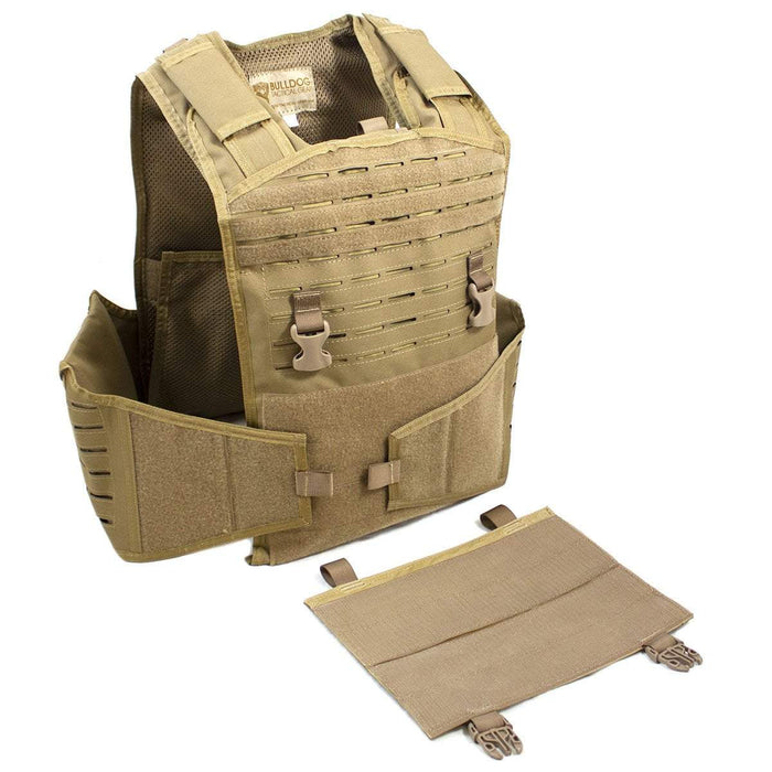 Bulldog Mission Alert Plate Carrier MK1 Bundle Coyote | UKMCPro