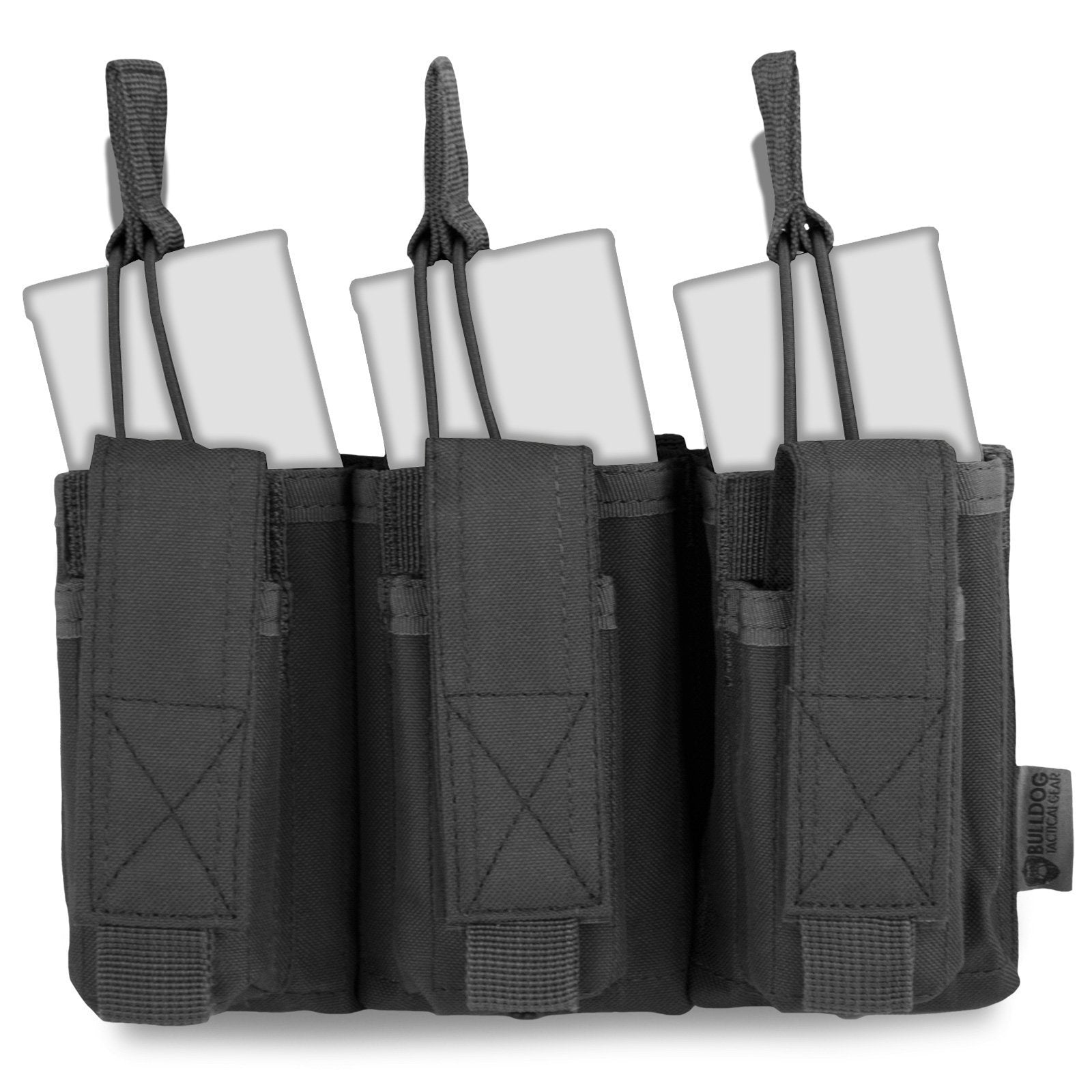 Bulldog MOLLE Triple Bungee Mag Pouch | UKMCPro