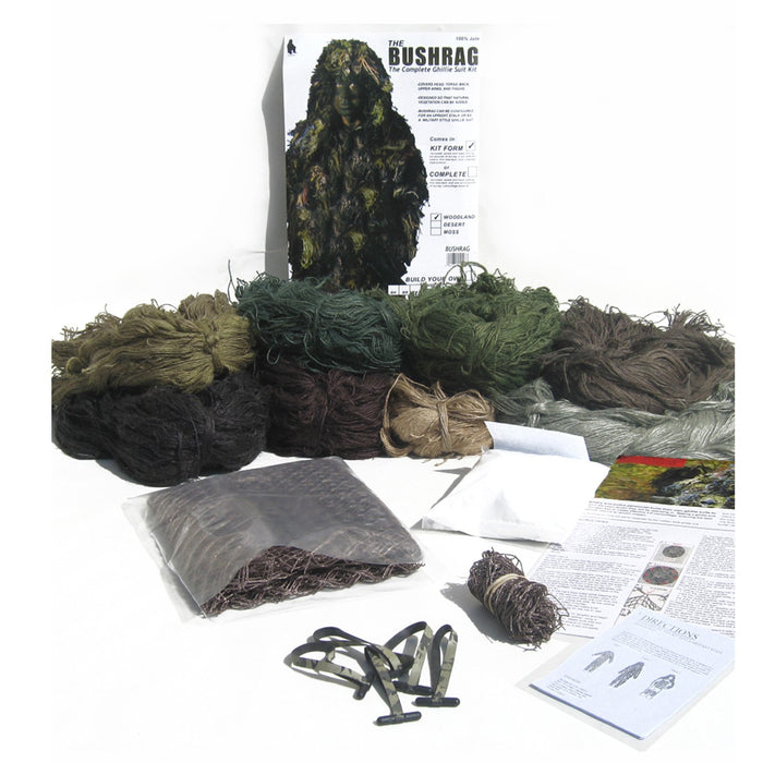 Bushrag DIY Ghillie Suit Kit | UKMCPro