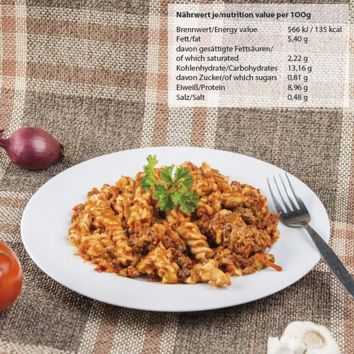 Canned Pasta with Bolognese Sauce | UKMCPro