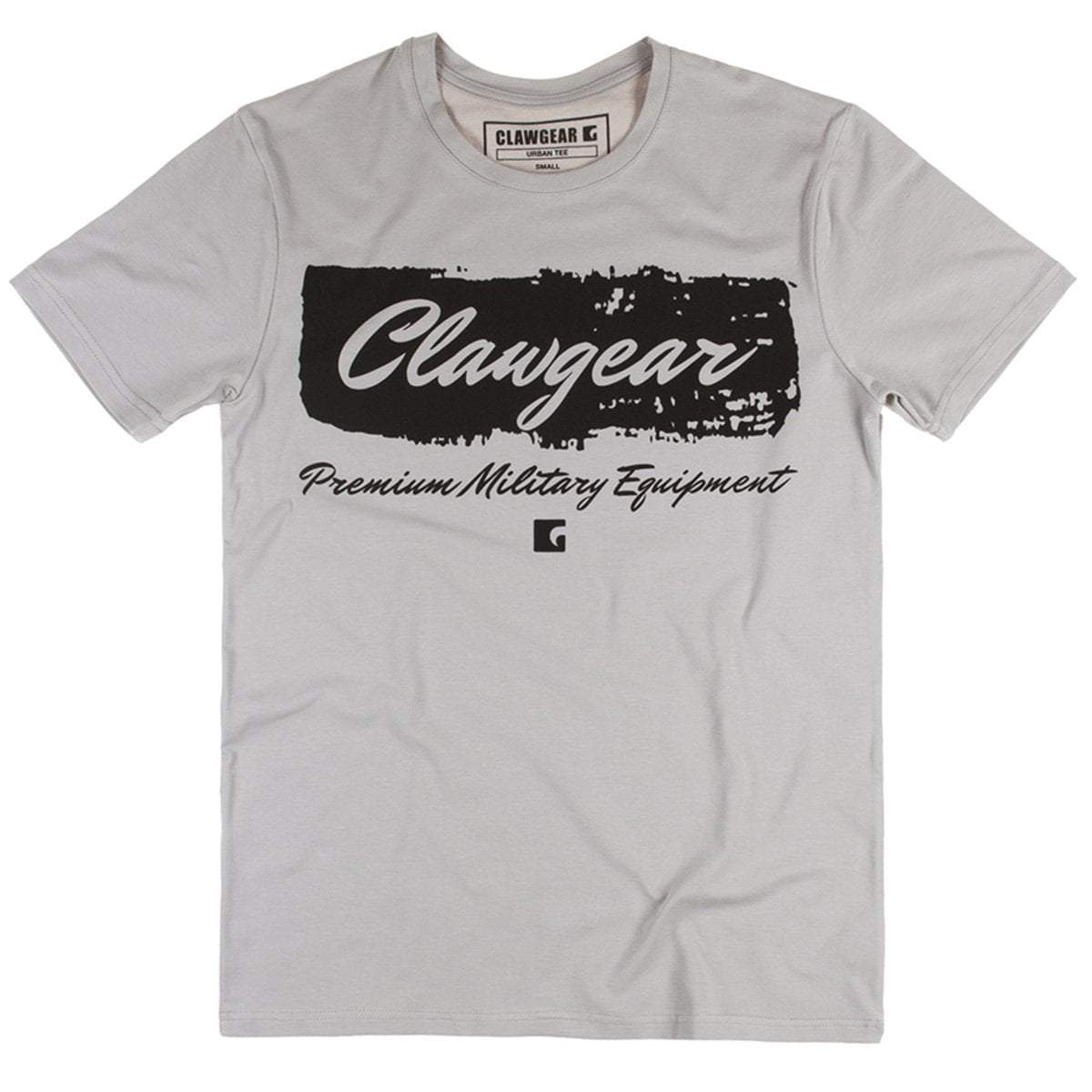 Clawgear Handwritten Tee Light Grey | UKMCPro
