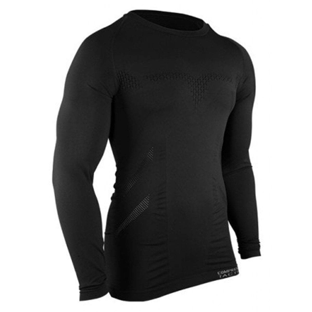 Compressport Tactical Legion Compression LS Shirt Black | UKMC Pro