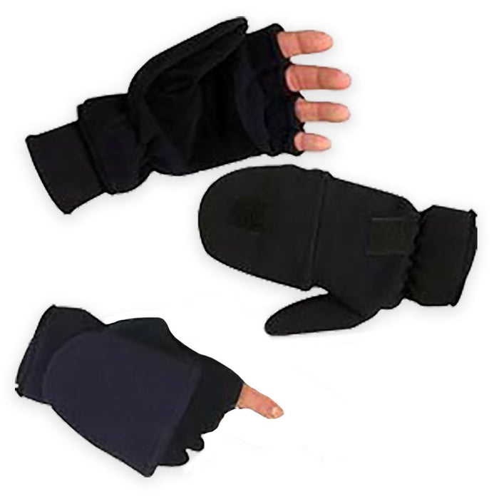 Elite Microfibre Fleece Fingerless Sniper Gloves | UKMCPro