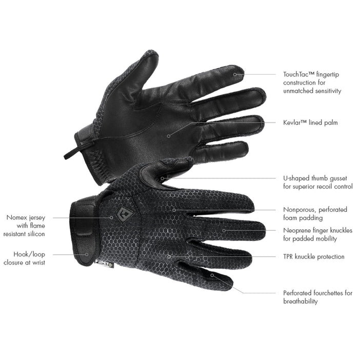 First Tactical Slash & Flash Hard Knuckle Gloves | UKMCPro