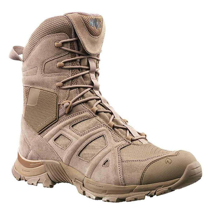 Haix Black Eagle Athletic 11 High Side Zip Boots Desert | UKMCPro