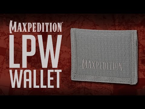 Maxpedition LPW Low Profile Wallet Video | UKMC Pro