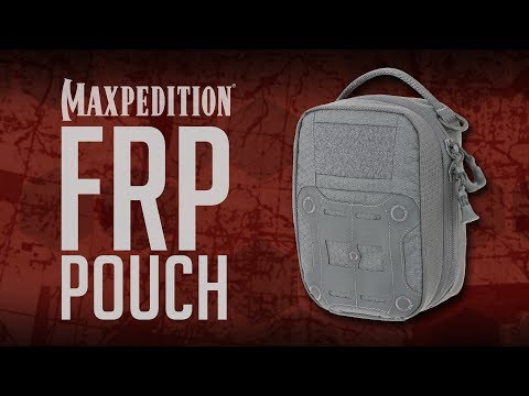 Maxpedition FRP First Response Pouch Video | UKMC Pro