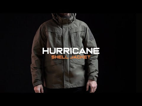 PENTAGON HURRICANE SHELL PARKA | Men's Waterproof Tactical Outer Layer | Video | UKMC Pro
