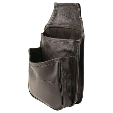 JACK PYKE LEATHER CARTRIDGE POUCH | Belt Mounted, Holds up to 50 | Brown | UKMC Pro
