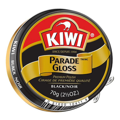 Kiwi Parade Gloss Boot Polish Black | UKMCPro