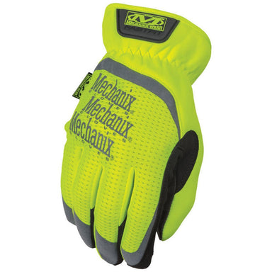 Mechanix Hi-Viz FastFit Gloves Yellow | UKMCPro