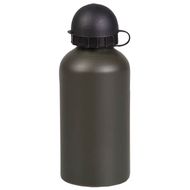 MIL-TEC ALUMINIUM REUSABLE DRINKING BOTTLE | Screw-On Lid, 500ml | UKMC Pro