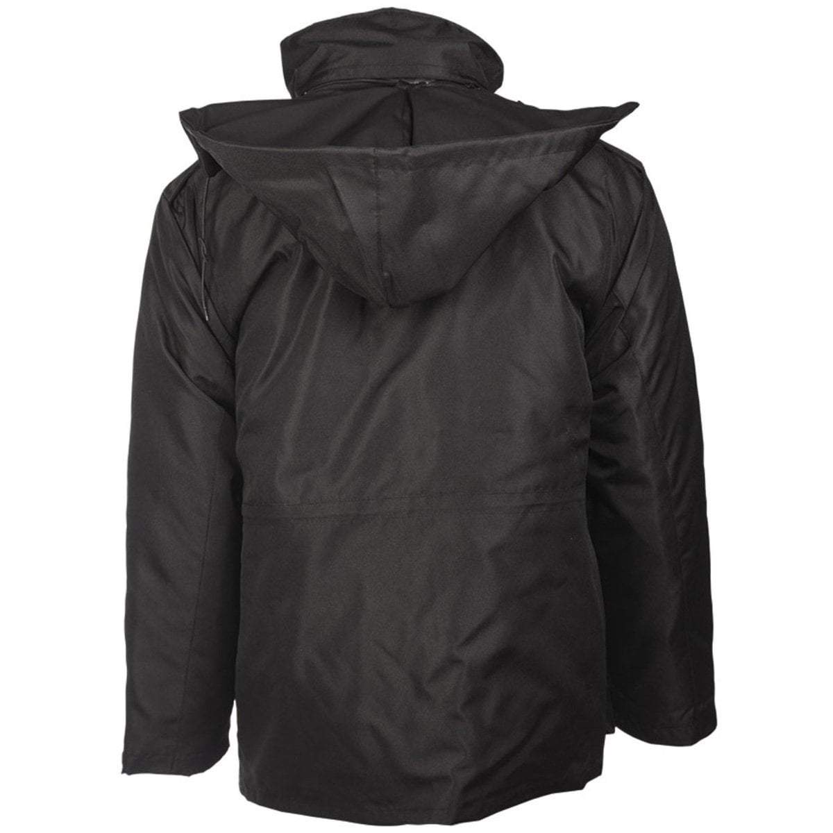 Mil-Tec Black Security Intervention Jacket | UKMCPro