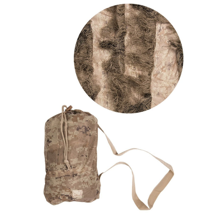 Mil-Tec Fire Retardant Basic Ghillie Cover | UKMCPro