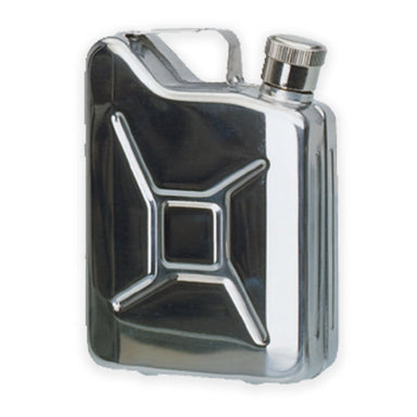 Mil-Tec Jerry Can Hip Flask 170ml Stainless Steel | UKMCPro