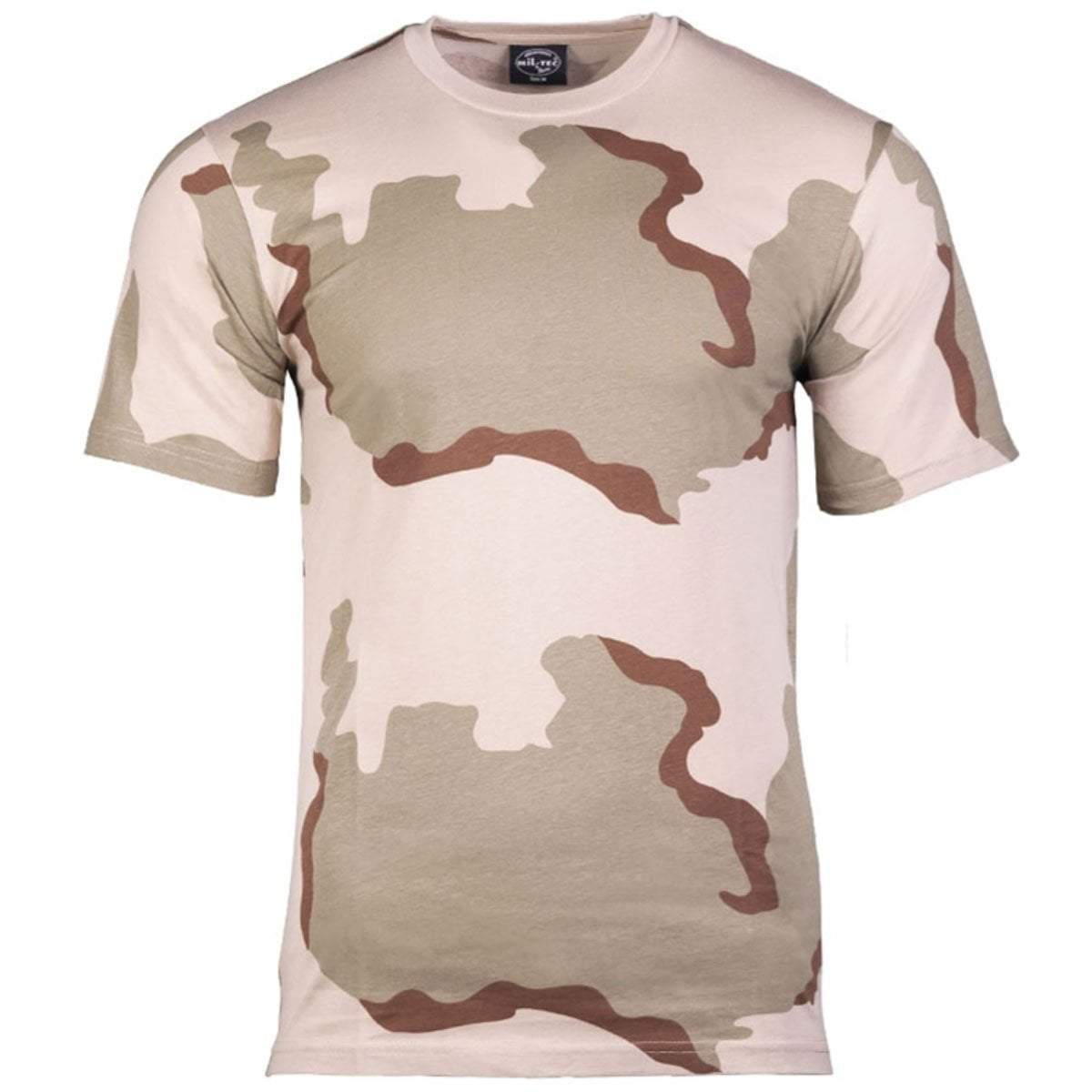 Mil-Tec Short Sleeve T-Shirt 3 Colour Desert Camo | UKMCPro