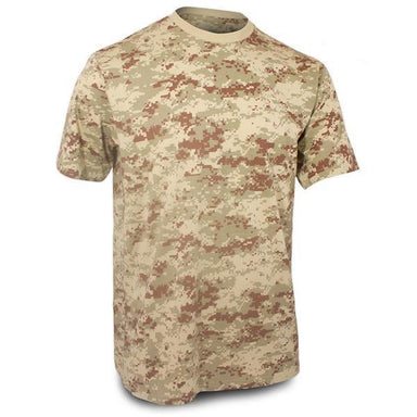 Mil-Tec Short Sleeve T-Shirt Desert Digital | UKMCPro