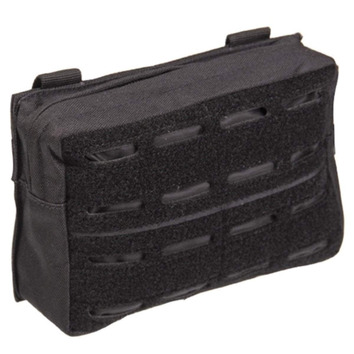 Mil-Tec Small Laser Cut MOLLE Utility Pouch Black | UKMC Pro