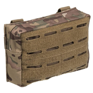 Mil-Tec Small Laser Cut MOLLE Utility Pouch Multitarn | UKMC Pro