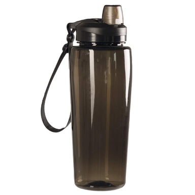 MIL-TEC WATER BOTTLE SMOKE GREY | Reusable Canteen with Drinking Spout | UKMC Pro