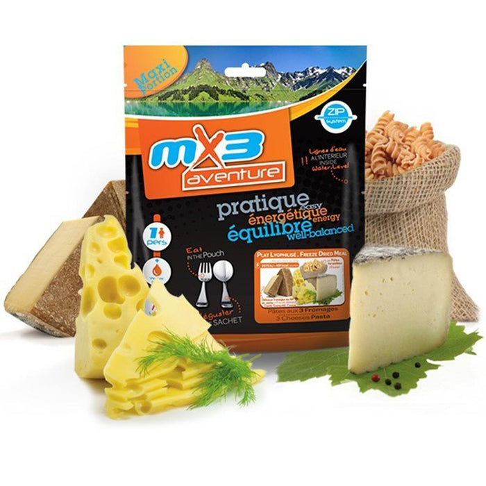 MX3 Adventure 3 Cheese Pasta Freeze Dry Meal Pouch | UKMCPro