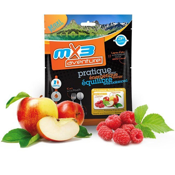 MX3 Adventure Apple & Raspberry Compote Freeze Dry Meal Pouch | UKMCPro