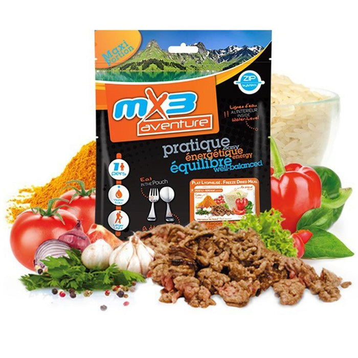 MX3 Adventure Beef Goulash with Rice Freeze Dry Meal Pouch | UKMCPro