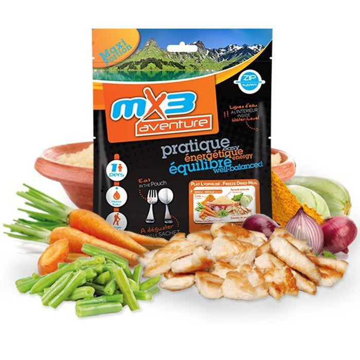 MX3 Adventure Chicken Couscous Freeze Dry Meal Pouch | UKMCPro