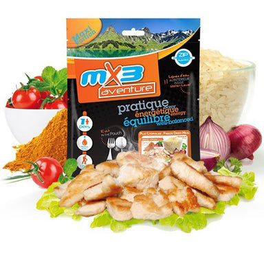 MX3 Adventure Chicken Korma & Rice Freeze Dry Meal Pouch | UKMCPro