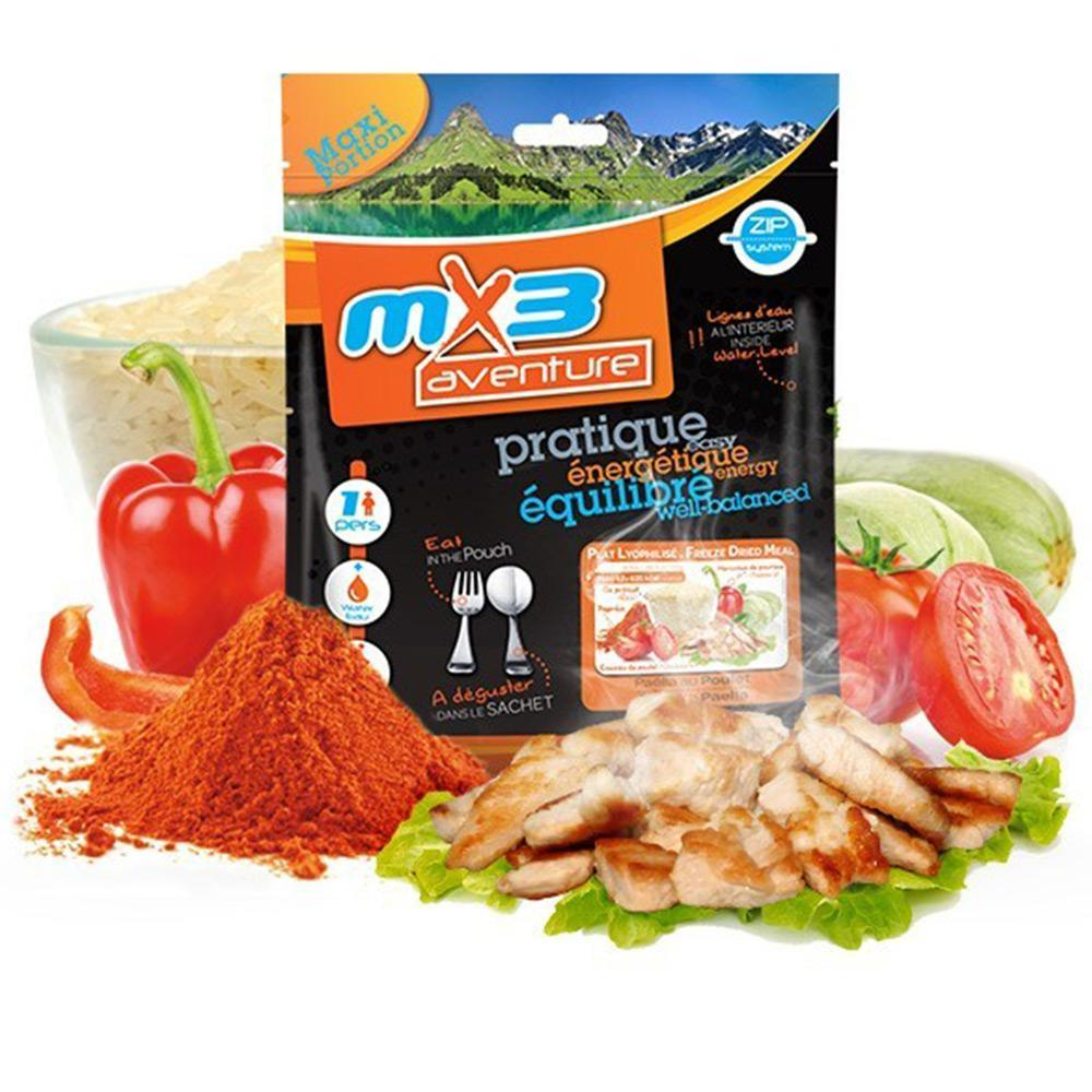 MX3 Adventure Chicken Paella Freeze Dry Meal Pouch | UKMCPro