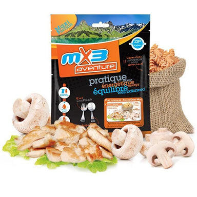 MX3 Adventure Chicken & Pasta with Mushrooms Freeze Dry Meal Pouch | UKMCPro