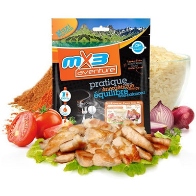 MX3 Adventure Chicken Tandoori with Rice Freeze Dry Meal Pouch | UKMCPro