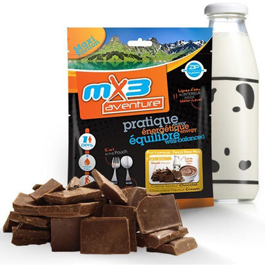 MX3 Adventure Chocolate Cream Dessert Freeze Dry Meal Pouch | UKMCPro