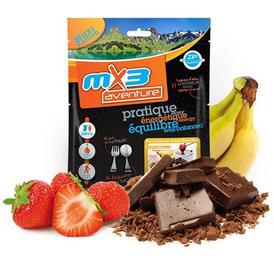 MX3 Adventure Chocolate & Fruit Fondue Freeze Dry Meal Pouch | UKMCPro