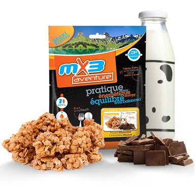 MX3 Adventure Chocolate Muesli Freeze Dry Meal Pouch | UKMCPro