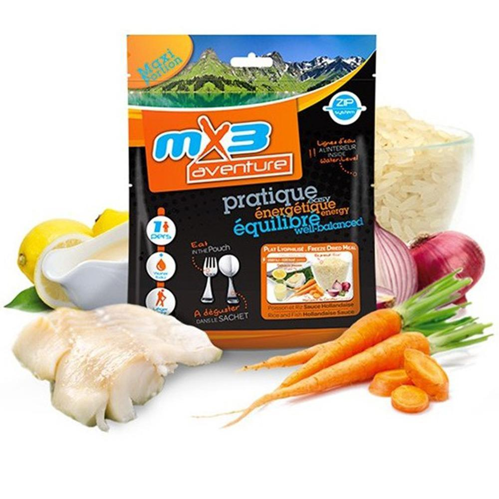 MX3 Adventure Fish & Rice with Hollandaise Sauce Freeze Dry Meal Pouch | UKMCPro