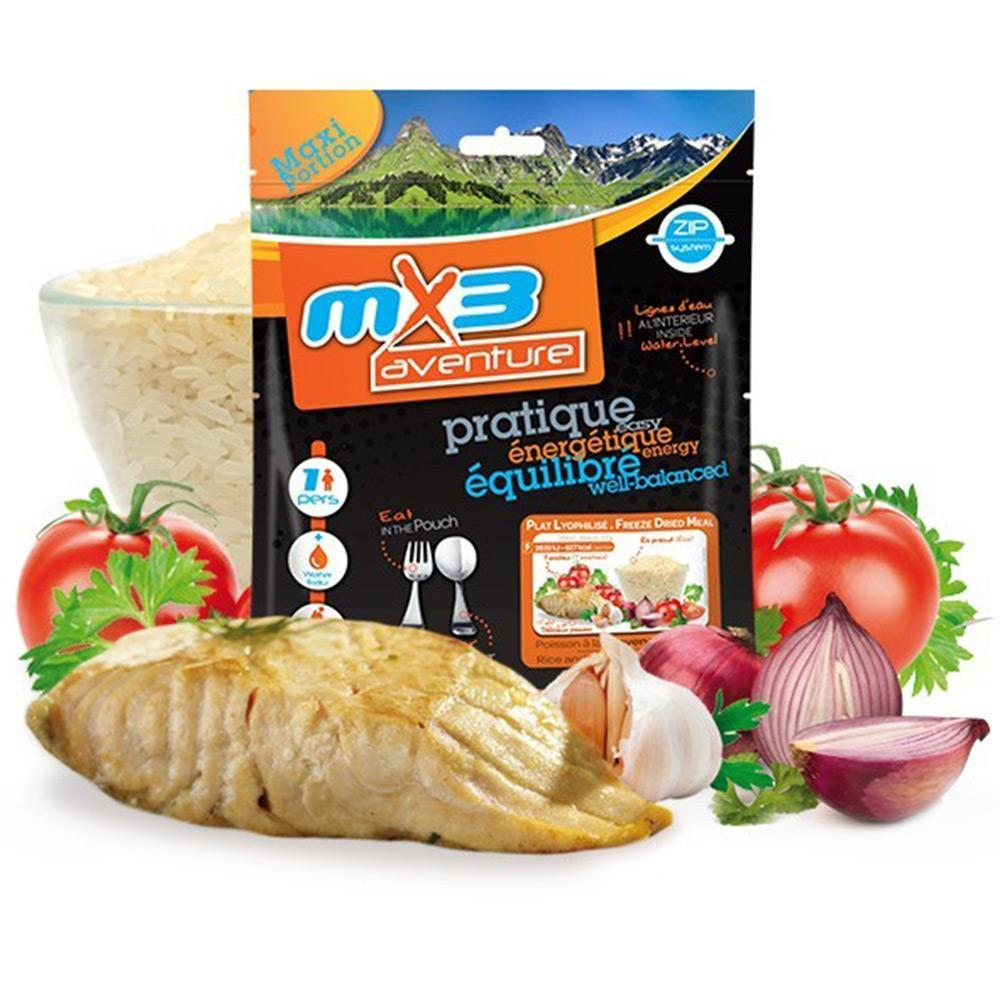 MX3 Adventure Fish & Rice with Tomatoes Freeze Dry Meal Pouch | UKMCPro