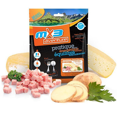MX3 Adventure French Tartiflette Freeze Dry Meal Pouch | UKMCPro