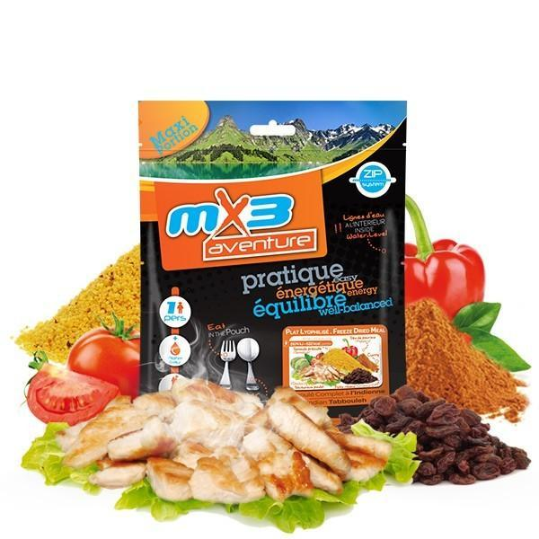 MX3 Adventure Indian Tabbouleh Freeze Dry Meal Pouch | UKMCPro