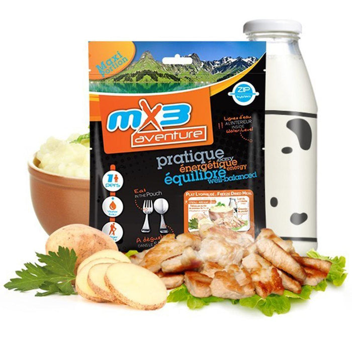 MX3 Adventure Mashed Potato & Chicken Freeze Dry Meal Pouch | UKMCPro