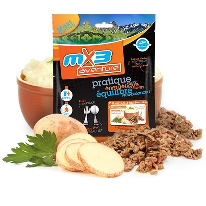 MX3 Adventure Shepard's Pie Freeze Dry Meal Pouch | UKMCPro