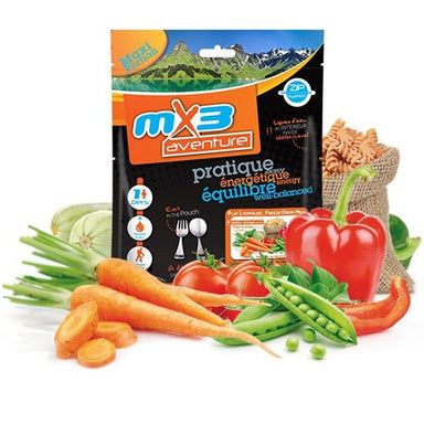 MX3 Adventure Vegetables & Pasta Vegetarian Freeze Dry Meal Pouch | UKMCPro