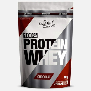 MX3 Force&Fit 100% Whey Protein 1kg Chocolate | UKMC Pro